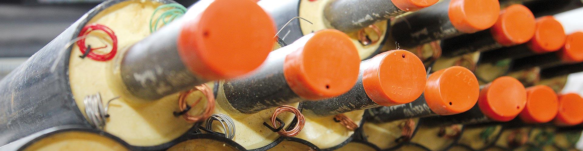 Nachisolierung von Kunststoffmantelrohren - KMR Service GmbH